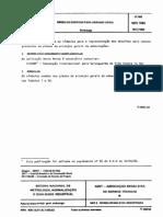 Nbr 07585.1982 - Simbolos Graficos Para Arranjo Geral