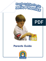 parents guide to synthetic phonics