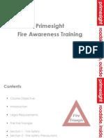 Fire Awareness Presentation