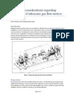 Ultrasonicgasflowmeters