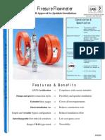 Influx flowmeter