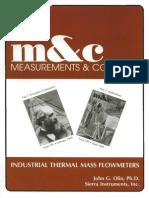 Industrial Thermal Mass Flow Meters