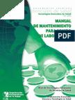 Manual de Mantenimiento para Equipos de Laboratorio
