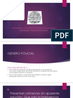 Genero Policial - FerTech