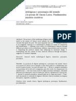 Figuras Mitologicas y Clasicismo en Lorca