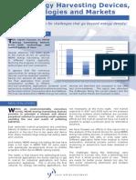 MEMS Energy Harvesting Debvices(2)