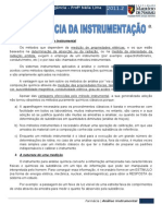 QUÍMICA INSTRUMENTAL - PROFª NÉLIA LIMA
