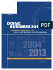 Doing Business Index