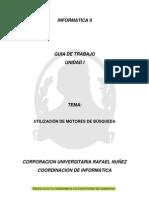 1.3. Guía Utilización de motores de busqueda