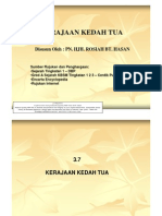 3.7 Kerajaan Kedah Tua