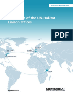 Evaluation of UN-Habitat Liaison Offices