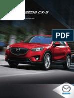 2014 Mazda CX5 Brochure Cx5 En