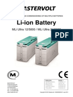 Mastervolt Li Ion Battery Manual