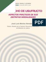 eBook El Derecho de Usufructo