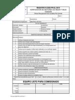 3285-PR-EL-0016 - 0 - Registro de verificación de motores eléctricos