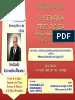 Invitación Semana Teológica 2013.2