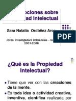 Nociones Sobre Propiedad Intelectual