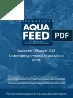 Understanding ammonia in aquaculture ponds