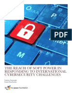 The Reach of Soft Power in Responding to International Cybersecurity Challenges