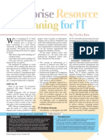 Enterprise Resource Planning for IT