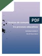Rita Mª Rivero Morán- Actividad 5- Técnicas de comunicación