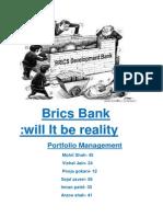 Brics Will It Be Reality