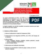 13-09-13 Agenda Legislativa Integral Tercera Plenaria Gppri-gppvem