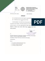 Ph.D Counceling Change of Venue