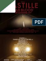 Bastille Badblood Booklet