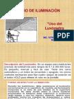 2 Uso Luxometro