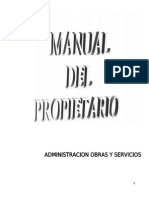 Manual Propietarios Orion
