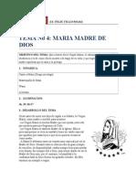 Tema 4 Maria Madre de Dios