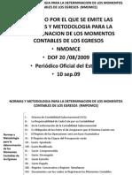 03 Normas y Metodologia Para La Determinacion de Los Momentos Contables