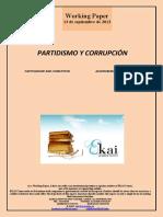 Partidismo y Corrupcion