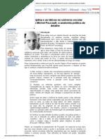 A disciplina e as táticas no universo escolar segundo Michel Foucault_ a anatomia política do detalhe