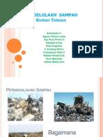 Sistem Pengelolaan Sampah RT
