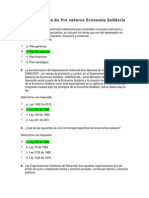 Act 1 Revisión de Pre saberes Economía Solidaria