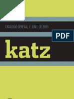 KATZ EDITORES Catalogo 2009