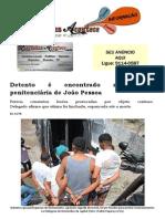 Detento é encontrado morto em penitenciária de João Pessoa
