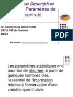 Statistiques Chapitre 2 (Prof El-mouatasim)
