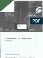 La Teoria Feminista y Discurso Juridico. Carol Smart.