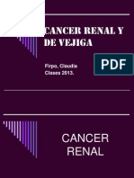 Cancer Renal y de Vejiga