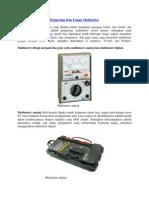 Pengertian Dan Fungsi Multimeter