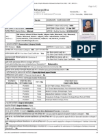 ..__ Directorate of Higher Education, Maharashtra State, Pune. B.ed.- C.E.T. 2013-14 __exam Form.