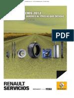 Renault Servicios - Guia de Precios
