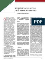 A Importância das Novas Estratégias de Marketing