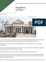 Macedonia_ Recreating History Through Skopje 2014 Urban Renewal Project - Financial Times