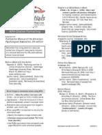 BearEssentials - APA Citation Formatting