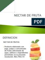 Nectar de Fruta
