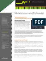 Datasheet InFusion SubstationAutomationConfigurationSCD5200!09!10 FINAL